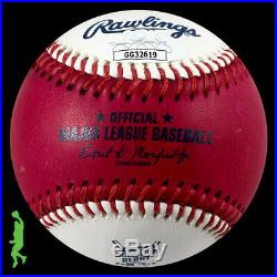 Vladimir Guerrero Jr Autographed 2019 Home Run Derby Moneyball Baseball Jsa Coa