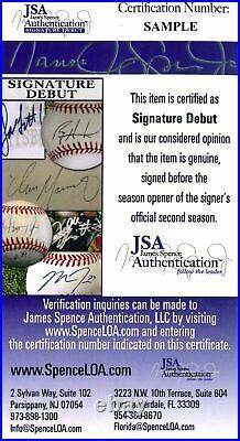 Vladimir Guerrero Jr. Blue Jays Signed 2019 Home Run Derby Baseball JSA Auth
