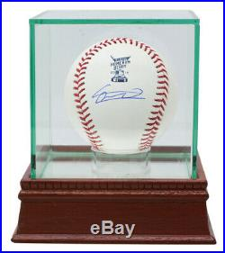 Vladimir Guerrero Jr. Blue Jays Signed 2019 Home Run Derby Baseball JSA withCase