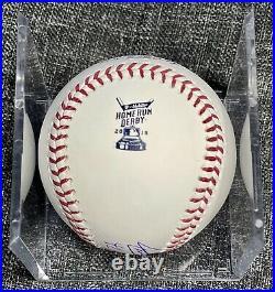 Vladimir Guerrero Jr. Signed Auto Home Run Derby Baseball 91 Topps Authentics