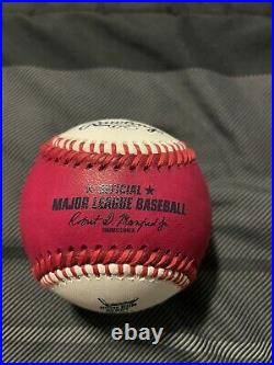 Vladimir Guerrero Jr Signed Home Run Derby Baseball Toronto Blue Jays Autograph