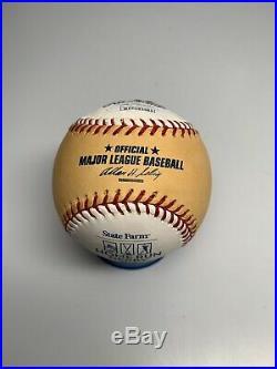 Vladimir Guerrero Signed Autographed 2007 Home Run Derby Gold Baseball JSA COA