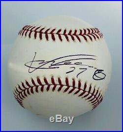 Vladimir Guerrero's Angels 2007 MLB Home-Run Derby Single-Signed Used Baseball