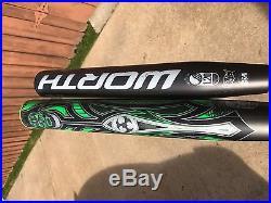 Worth Mayhem USSSA Aggressive Shaved Homerun Derby Softball Bat Legit hd52 JUICE