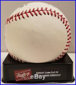 Yoenis Cespedes Autographed 2014 Home Run Derby Baseball MLB Authentication COA