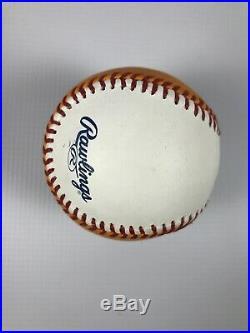 Yoenis Cespedes Signed 2014 Home Run Derby Gold Baseball