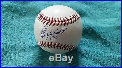 Yoenis Cespedes autographed OML 2004 Home Run Derby baseball PSA/DNA Cert #79517